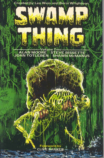 Image result for alan moore swamp thing